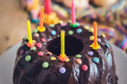 Geburtstagskuchen - 15 Jahre Tierschutzverein Ammerland